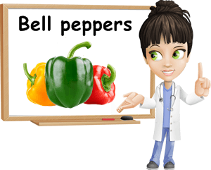 Bell peppers benefits
