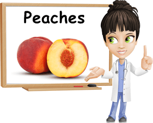 Peaches benefits