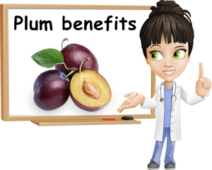 Plums benefits
