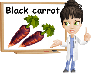 Black carrot benefits