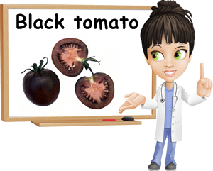 Black tomato benefits