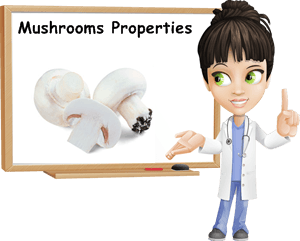 Properties Mushrooms