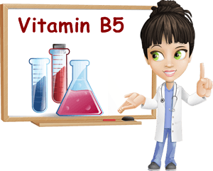 Vitamin B5 properties