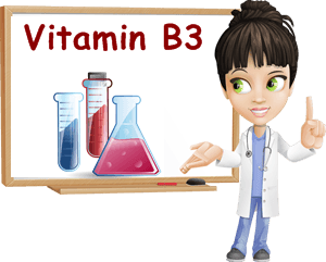 vitamin B3 properties