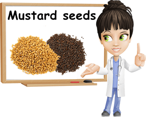 Mustard seeds benefits