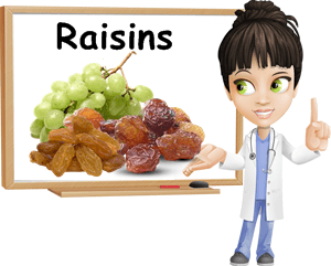 Raisins benefits