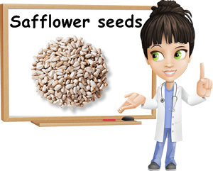 Safflower seeds benefits