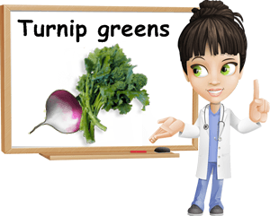 Turnip greens benefits