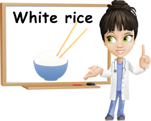 White rice benefits