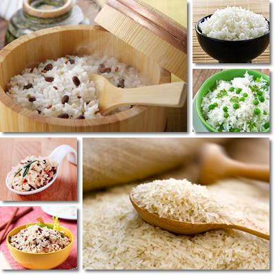 Properties and Benefits of White Rice