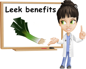 Leek benefits