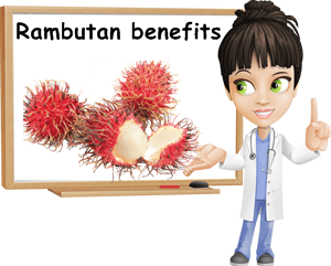 Rambutan benefits