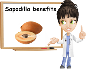 Sapodilla benefits