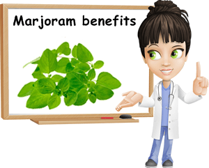 Marjoram benefits