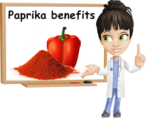 Paprika benefits