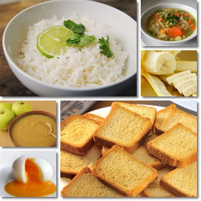Diarrhea foods
