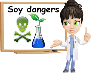 Health dangers of soy