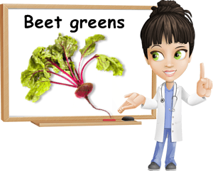 Beet greens benefits