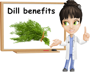 Dill benefits