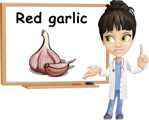 Red garlic benefits