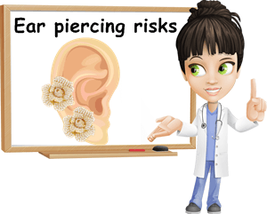 Ear piercings pros and cons