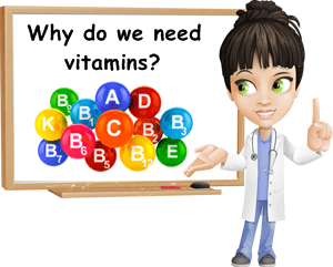 Why we need vitamins