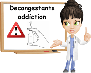 Addictive decongestants