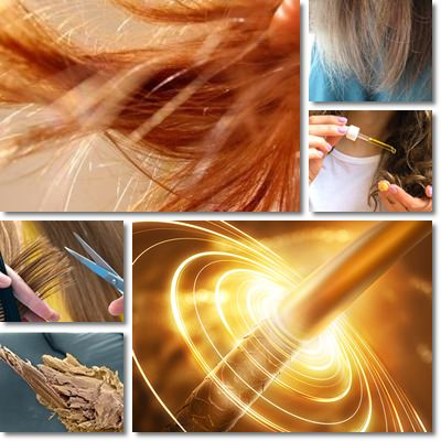 Damaged hair remedies