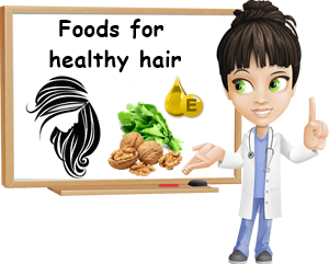 Foods for damaged hair