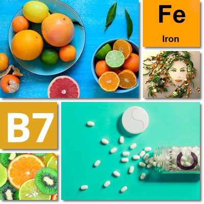 Nutrients for Healthy Hair