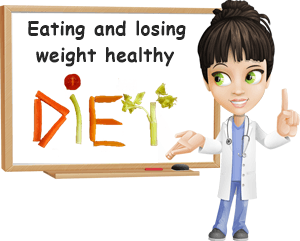 Eating and losing weight healthy