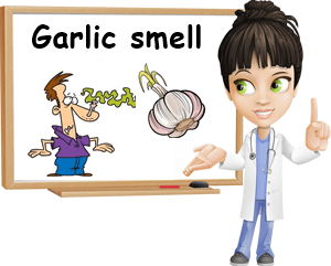 Garlic smell