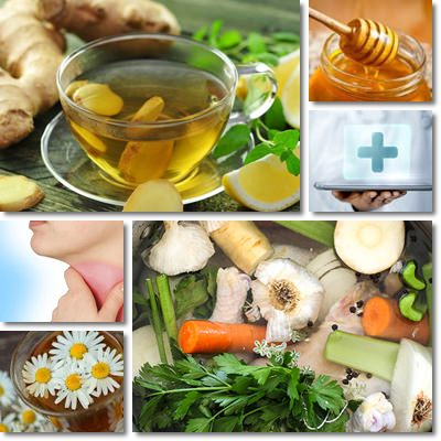 Sore throat natural remedies