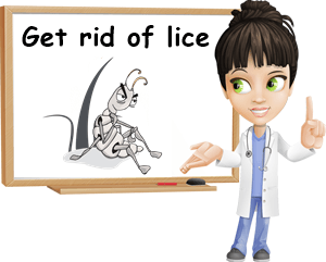 get rid of lice