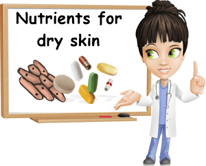 nutrients for dry skin