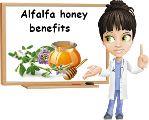 Alfalfa honey benefits