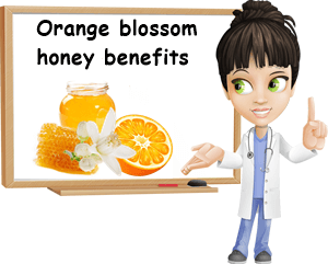 Orange blossom honey benefits