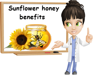 Sunflower honey benefits
