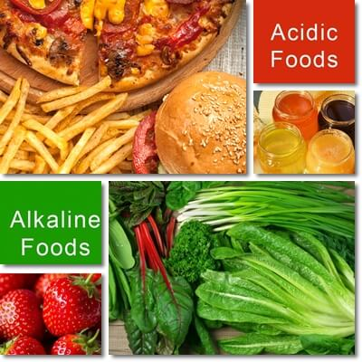 Alkaline acid diet