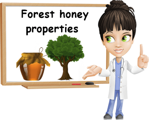 Forest honey properties