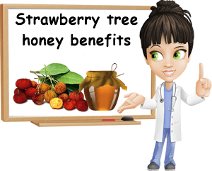 Strawberry tree honey benefits
