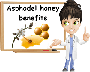 Asphodel honey benefits