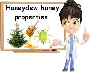 Honeydew honey properties