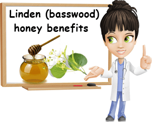 Linden basswood honey benefits