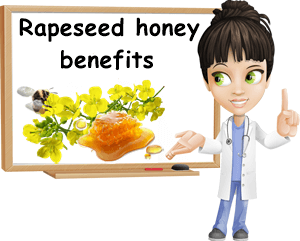 Rapeseed honey benefits