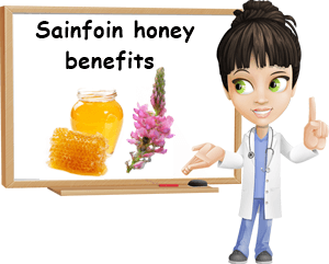 Sainfoin honey benefits