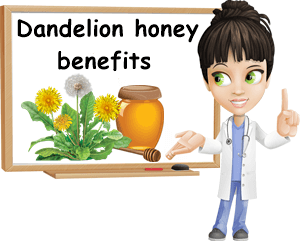 Dandelion honey benefits