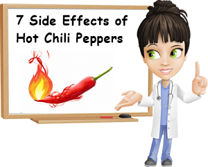 Hot peppers side effects
