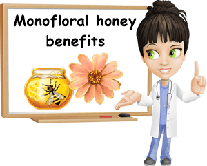 Monofloral honey benefits