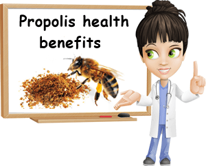 Propolis health benefits